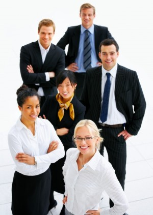Picture of a business team